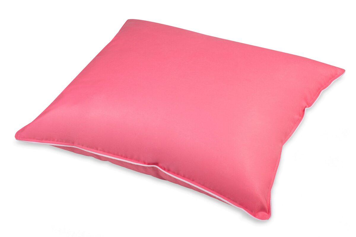 Naturālais spalvu-dūnu spilvens RL02 ar 1,4KG pildījumu 70x70cm rozā