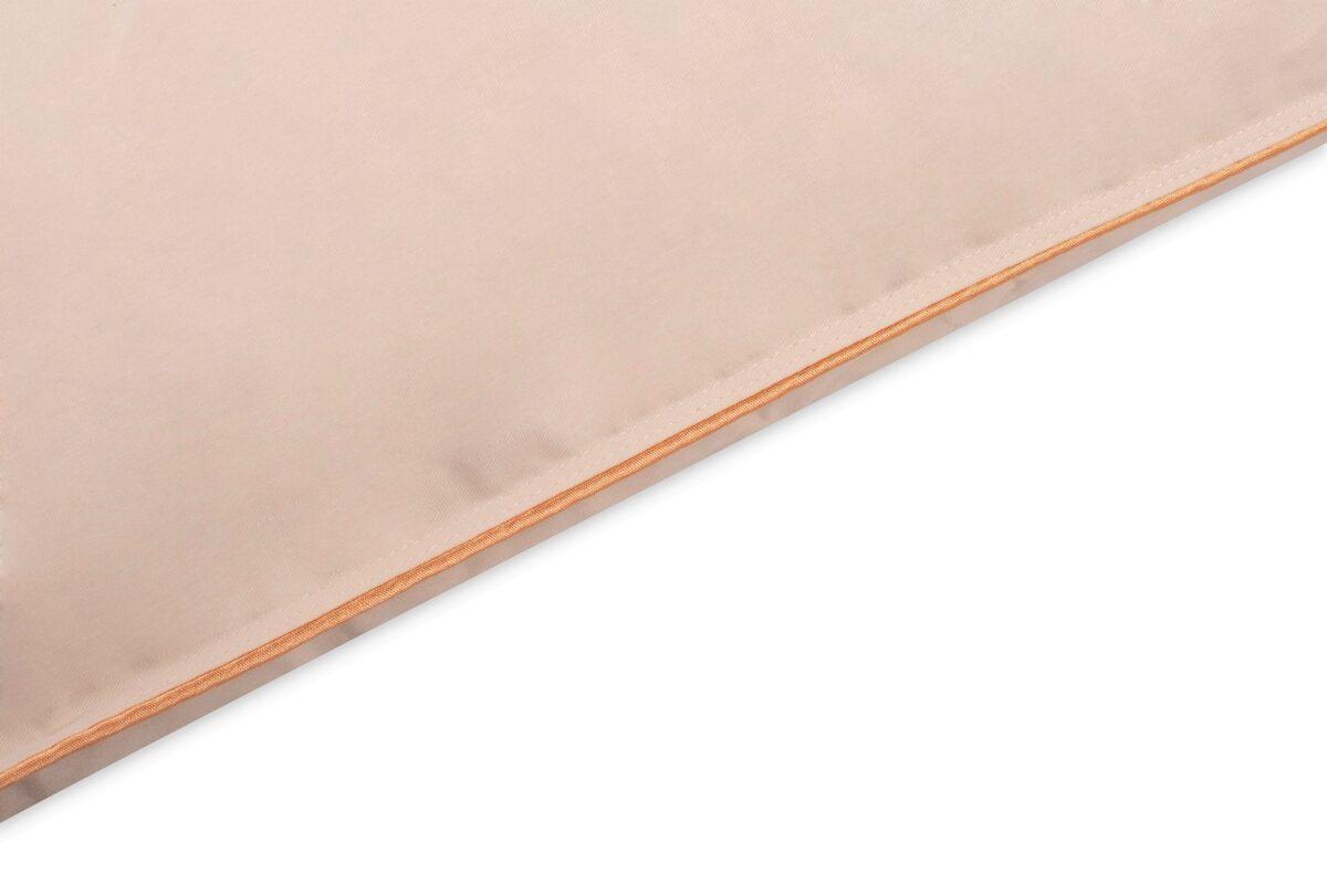Naturālas zosu dūnu spilvens RL60 ar 0,6KG pildījumu 50x60cm bešā