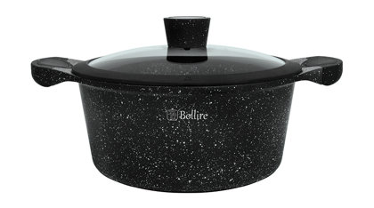 Boiler with lid 5.2L marble coating BR-1104