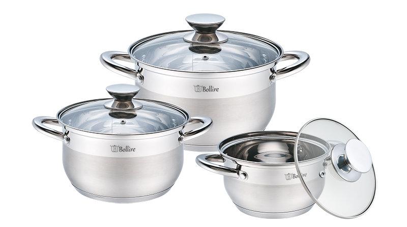 Boiler set 6-piece 1.5L 3.0L 5.1L BR-4001