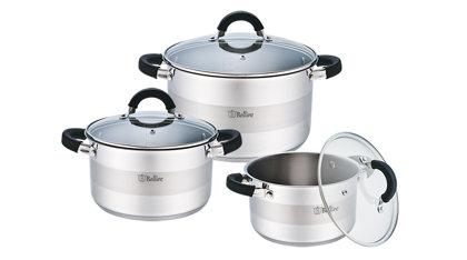 Boiler set 6-piece 1.6L 3.1L 5.2L BR-4002